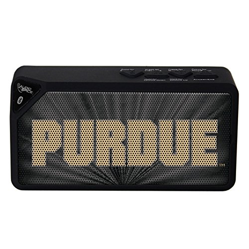 AudioSpice NCAA Purdue Boilermakers BX-100 Bluetooth Speaker, Black from AudioSpice