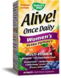 Nature's Way Alive! Once Daily Women's Multivitamin, Ultra Potency, Food-Based Blends (240mg per serving), 60 Tablets Review
