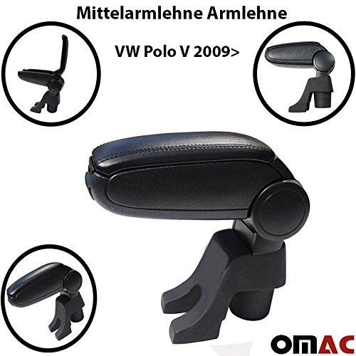 2 opinioni per Bracciolo nero in pelle per VW POLO V dal 2009
