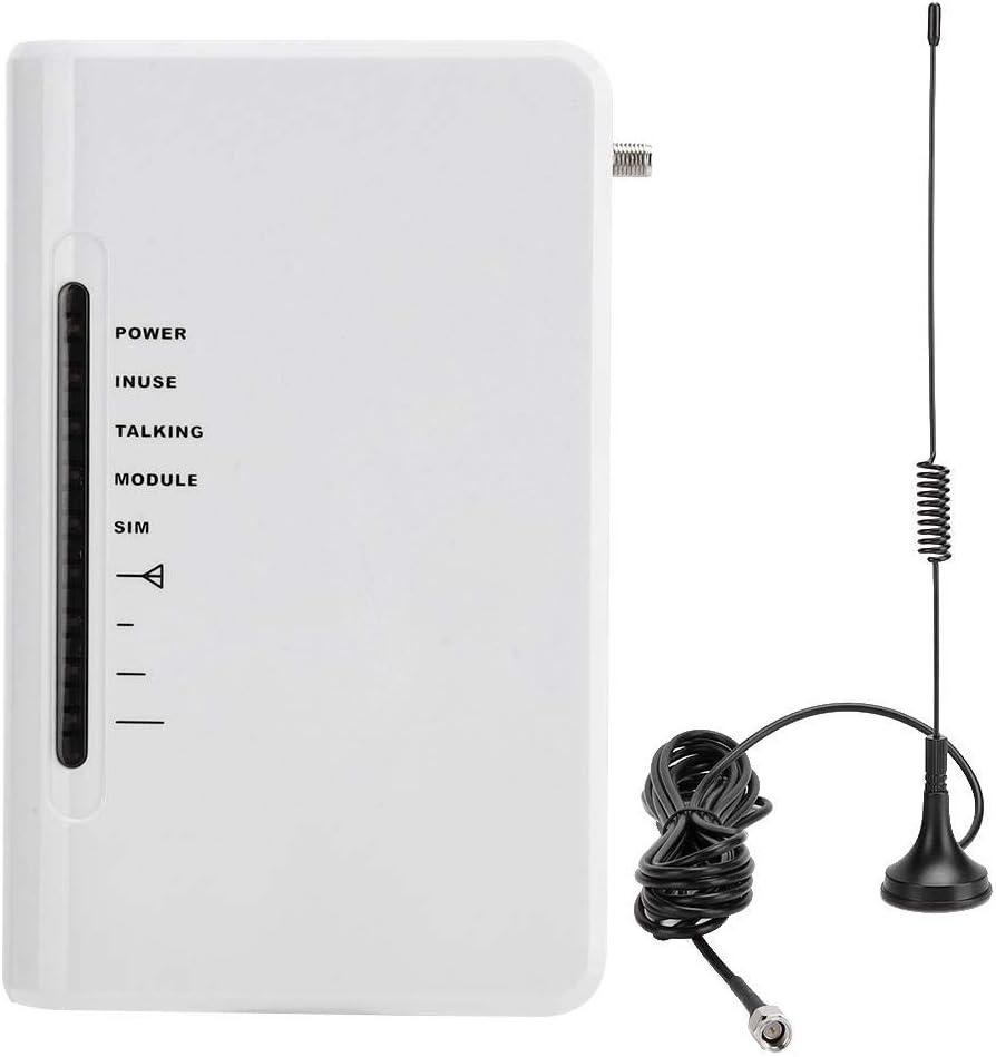 Biuzi Terminal inalámbrico Fijo, Terminal de Pantalla Plataforma de Acceso inalámbrico Conectar Caja de teléfono Grabador de Alarma para teléfono SIM Llamada 100-240V(EU Plug): Amazon.es: Hogar