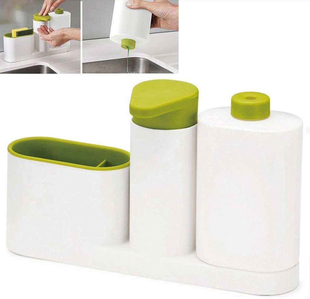 Gaoerd Multifunctional Washing Sponge Storage Sink Detergent soap Dispenser Storage Rack Hand sanitizer Bottle Kitchen Sell Like hotcakes