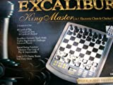 excalibur chess - Excalibur King Master 2 in 1 Electronic Chess & Checker Game