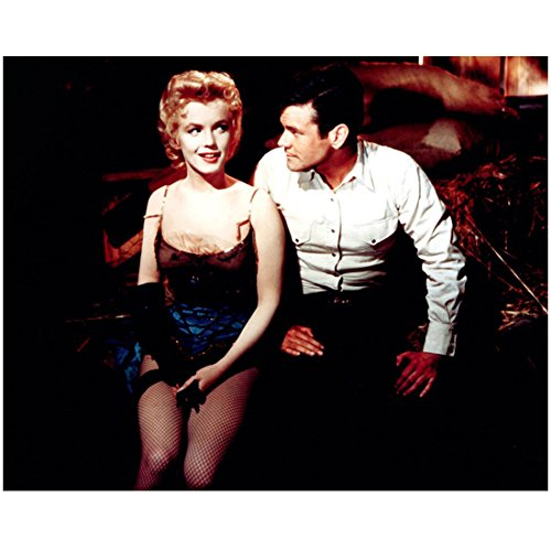 50s Showgirl Costumes (Bus Stop Marilyn Monroe Smirking In Dance Costume With Don Murray 8 x 10 Photo)