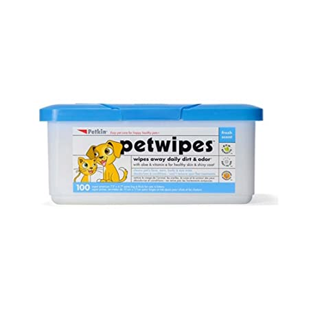 Petkin Petwipes 100 Count by Petkin