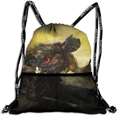 ダークソウルdark Souls 1 大容量 クファッション印刷 バックパッ男女兼用 バックパック小新鮮 旅行スポーツバッグ 防水スイミングバック学生バッグ 多機能 収納バックパッ通勤 大容量 男女兼用 バックパック