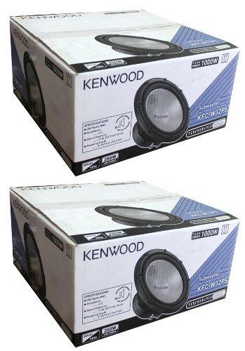 """2) Kenwood KFC-W12PS 12"""" 2000W Car Subwoofers Power Subs Woofers 4 Ohm KFCW12PS"""