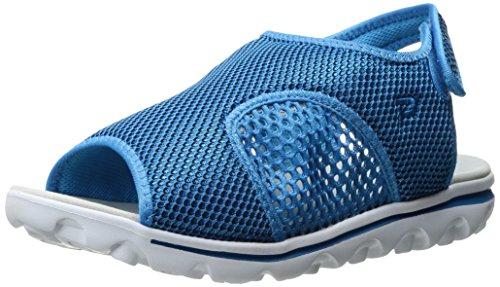 Propett Propet Womens Travelactiv Ss Sandalo Blu / Nero