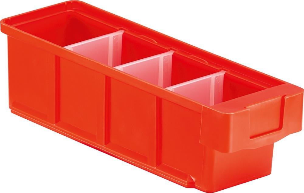 Kleinteilebox VKB 300x186x83 mm rot | 4053569735193