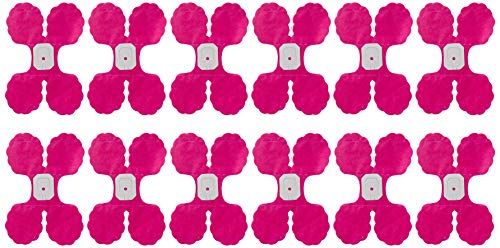 12 Hanging Honeycomb Garlands. Hot, Hot Pink. GREAT VALUE. Long, Lush & Dimensional Hanging Honeycomb Flower Garlands. Add EASY & INSTANT CHIC to Any Celebration. 12 feet long.