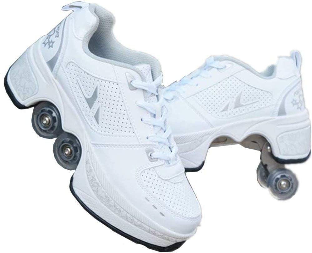 FTYUNWE Zapatillas Deportivas De Mujer Gimnasio Zapatos Running Deportivos Fitness Correr Casual Ligero Comodos Respirable,HighTea-35: Amazon.es: Hogar