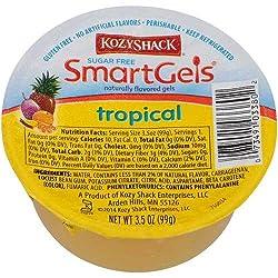 Kozy Shack Sugar Free Tropical Smartgels, 3.5 Ounce -- 48 Per Case.