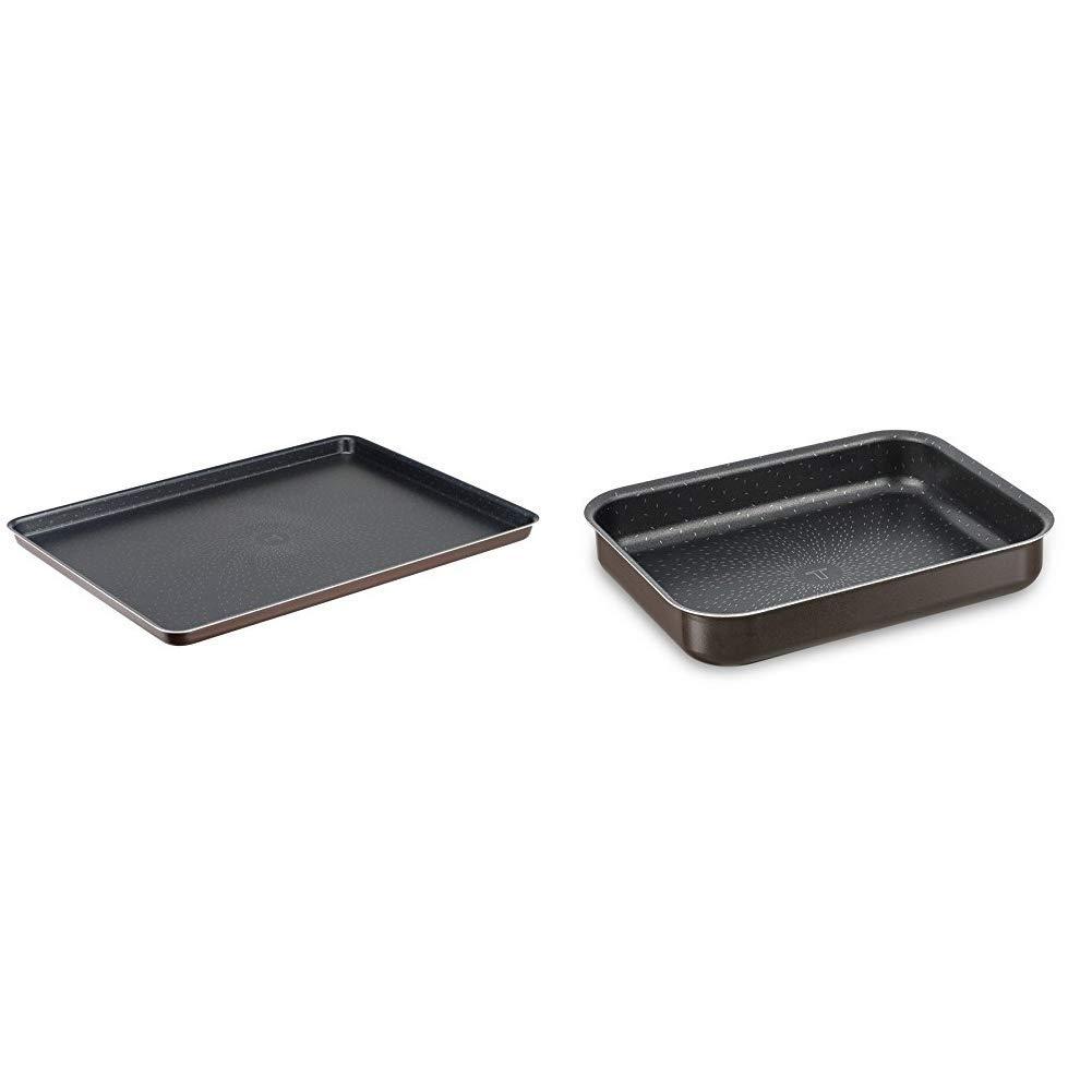 Tefal J1607002 success plate pastry brown aluminum 38 x 28 x 1,7 cm