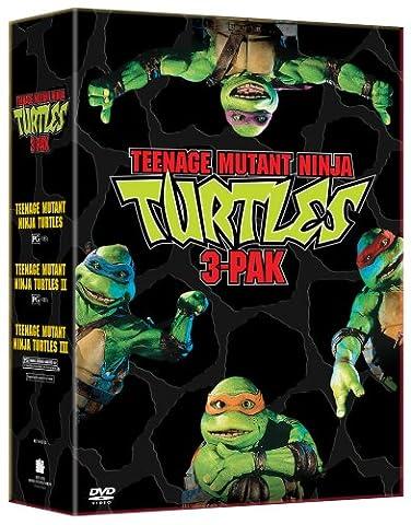 Teenage Mutant Ninja Turtles Three Pack (Teenage Mutant Ninja Turtles/Teenage Mutant Ninja Turtles II - The Secret of the Ooze/Teenage Mutant Ninja Turtles (Turtles Dvd Collection)