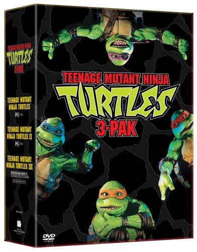 Teenage Mutant Ninja Turtles Three Pack (Teenage Mutant Ninja Turtles/Teenage Mutant Ninja Turtles II - The Secret of the Ooze/Teenage Mutant Ninja Turtles III) ()