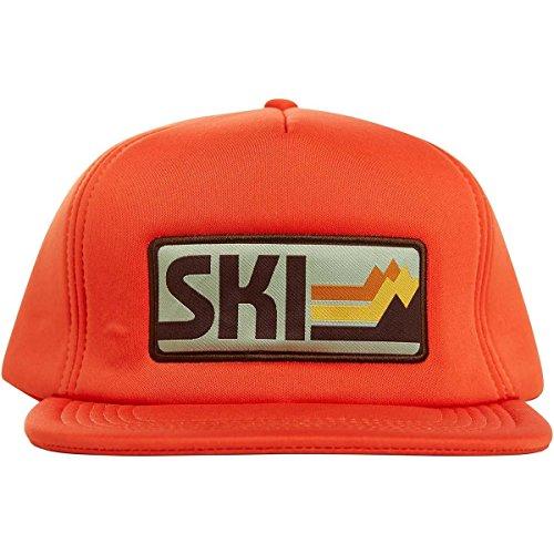 Flylow Cream Soda Trucker Hat, Aperol, OSFM, - Hat Trucker New Snowboard