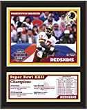 "Washington Redskins 12"" x 15"" Sublimated Plaque - Super Bowl XXII - Fanatics Authentic Certified - NFL Team Plaques and Collages"