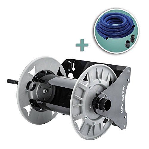 Rockler Dust Right Shop Vacuum Hose Reel with 40