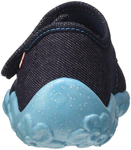 Superfit Mädchen Bonny Niedrige Hausschuhe, 800283 Blau (Ocean Kombi)
