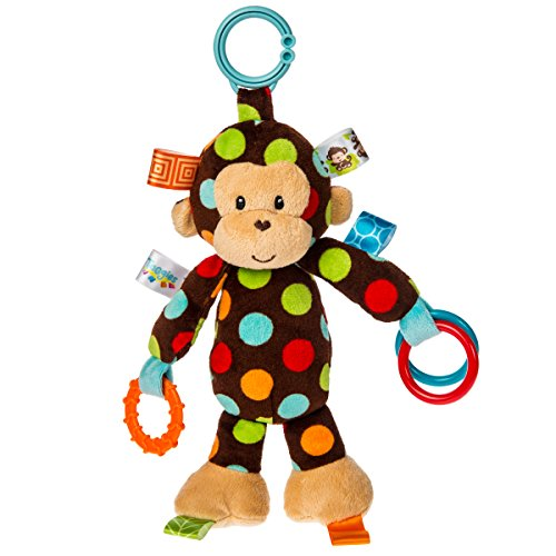 Taggies Dazzle Dots Activity Toy, (Chewable Jungle)