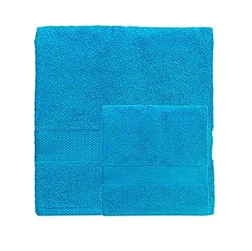 Set Esponja Par 2 unidades 1 + 1 invitados 40 x 60 + toalla 60 x