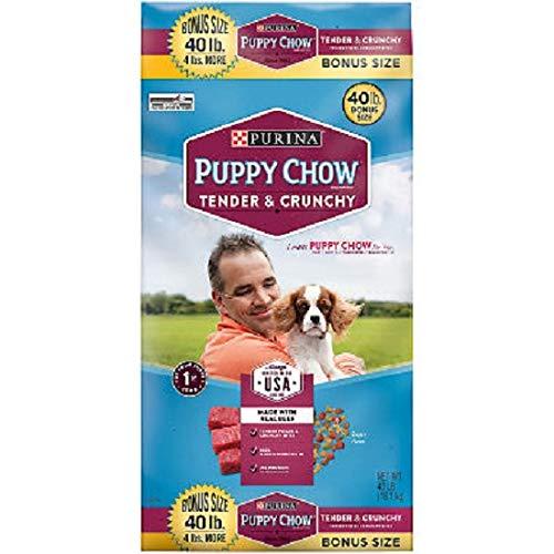Purina Puppy Chow Tender and Crunchy Dog Food Bonus Size 36 lb. Bag