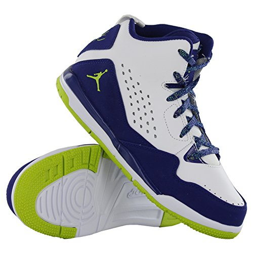 Nike Sc-3 Gp Blanco Azul Trainer13 Uk White Blue