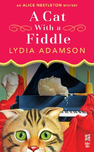 book cover of A Cat with a Fiddle