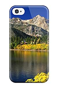 Anti-scratch And Shatterproof Nice Scenery Phone Case For Iphone 4/4s/ High Quality Tpu Case