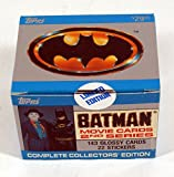 1989 Topps Batman 2nd Series Sealed Factory Card Set with Stickers (143 + 22)