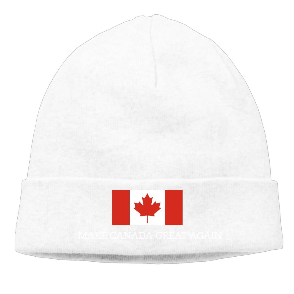 1ae9ca65494c3f Sincerity-First Mens&Womens MAKE CANADA GREAT AGAIN FLAG Outdoor Daily  Beanie Hat Skull Cap Ash at Amazon Men's Clothing store: