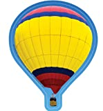 Eureka 5-Inch Paper Cut-Outs, Hot Air Balloons, Package of 36 (841205) - DISCONTINUED by Manufacturer