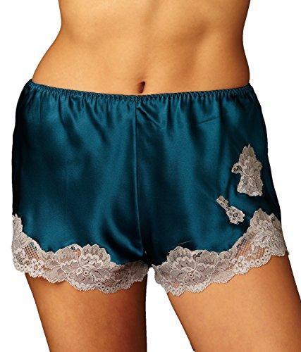 Silk Lingerie Camisole Tap Pant - 8