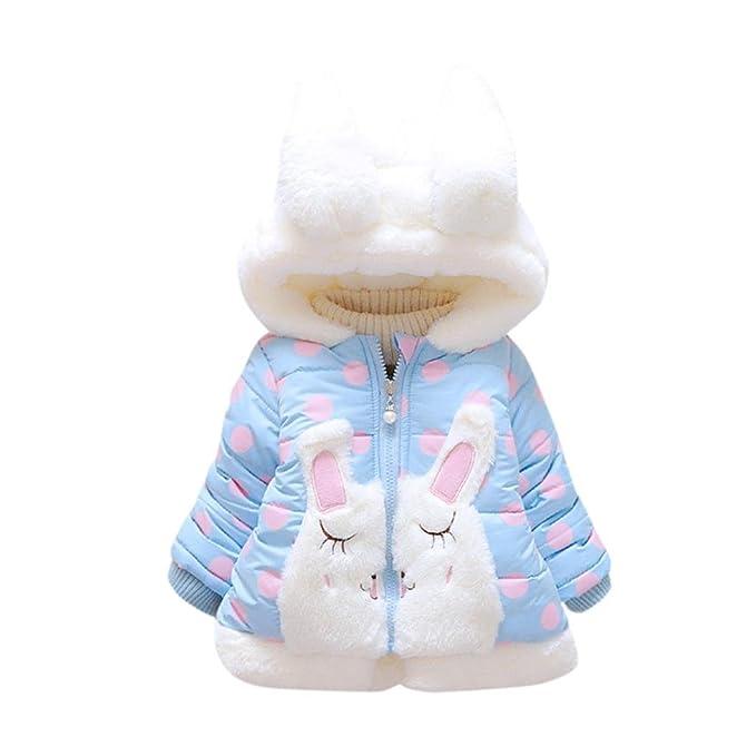 Abrigos Bebé, Xinan Cazadora con capucha y capucha de invierno Ropa gruesa y cálida Ropa de bebé Chaqueta para niños 0-36 Mes: Amazon.es: Ropa y accesorios