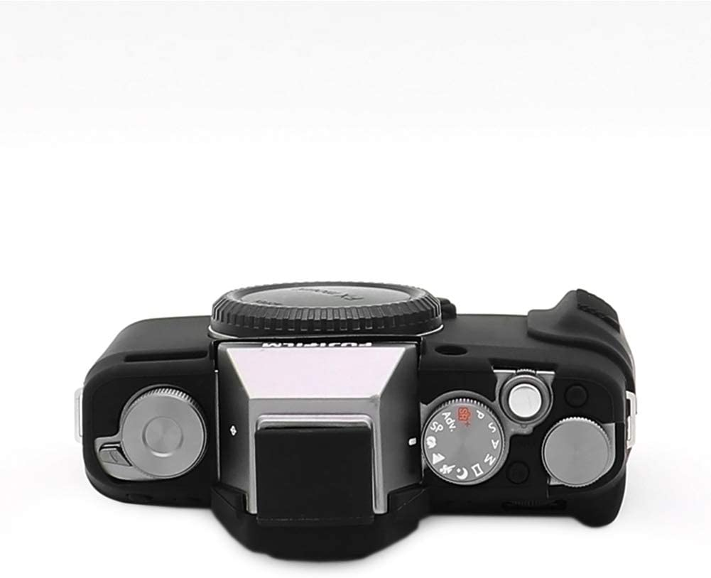 kinokoo Silicone Cover for Fuji X-T100 Protective Case Rubber Cover black