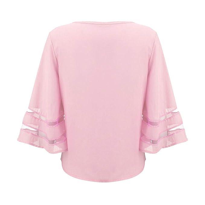 Amazon.com: Hots!!! Teresamoon Women O Neck Tops Short Sleeve Sweatshirt Pullover Blouse T Shirt Tee: Home Audio & Theater
