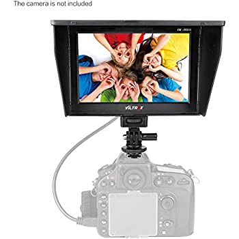 Viltrox DC-70 Clip-on Color 7'' TFT LCD HD Monitor HDMI AV Input 1280 * 800 for Sony,Canon,Nikon DSLR Camera Camcorder