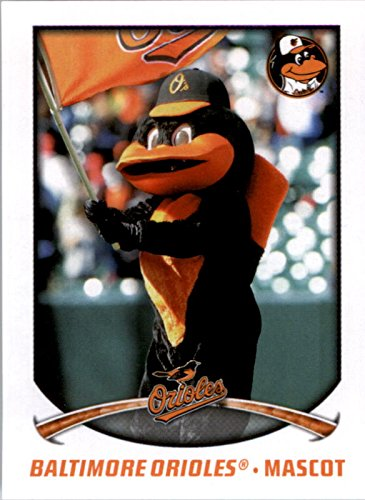 (2015 Topps Stickers #10 Baltimore Orioles Mascot - NM-MT)