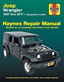 Jeep Wrangler, '87-'17: Does not include information specific to diesel models (Haynes Automotive)
