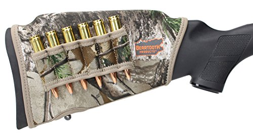Beartooth Comb Raising Kit 2.0 - Neoprene Gun Stock Sleeve + (5) Hi-density Foam Inserts - RIFLE MODEL (Realtree Xtra)