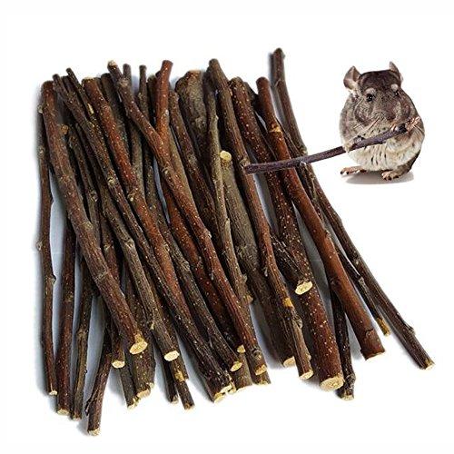 MaiTaiTai 500g Natural Apple Sticks Pet Snacks Chew Toys for Guinea Pigs Chinchilla Squirrel Rabbits Hamster Guinea Pigs -