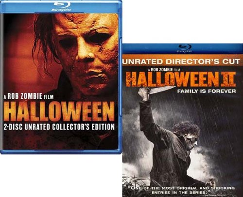 Halloween (2 Disc Collector's Edition)/Halloween II - Director's Cut (Blu-ray) Unrated (2 Pack)