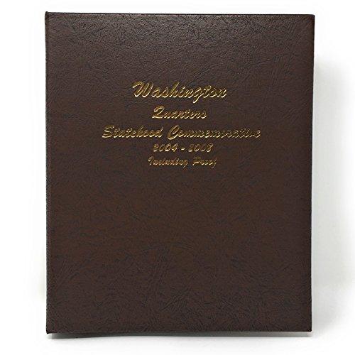 Dansco Us Statehood Quarter With Proof Coin Album Volume 2 2004   2008  8144