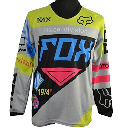 Motogp Herren T Shirts Fox Langarm Motorrad Shirt