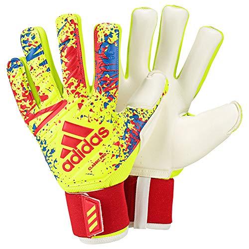 (adidas Classic PRO Retro Inspired Goalkeeper Gloves for Soccer Retro Goalkeeping)