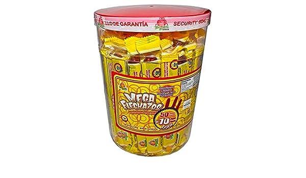 Amazon.com: El Azteca Mega Flechazos Hot & Salt Tamarind Flavor Candy, 50 Count