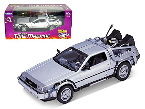Back to the Future DeLorean Time Machine Die-Cast Vehicle (Delorean Vehicle)