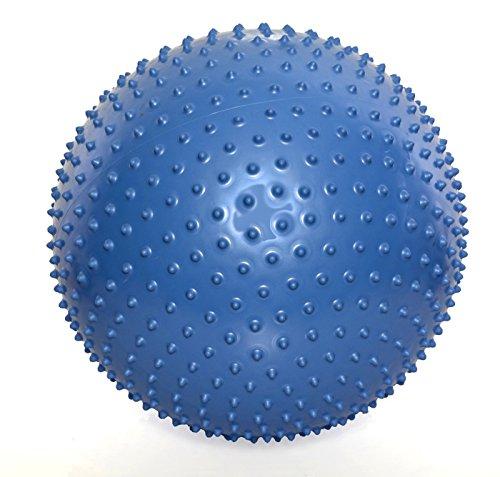 Goda Anti-Burst Inflatable Massage Yoga Exercise Ball (Blue)