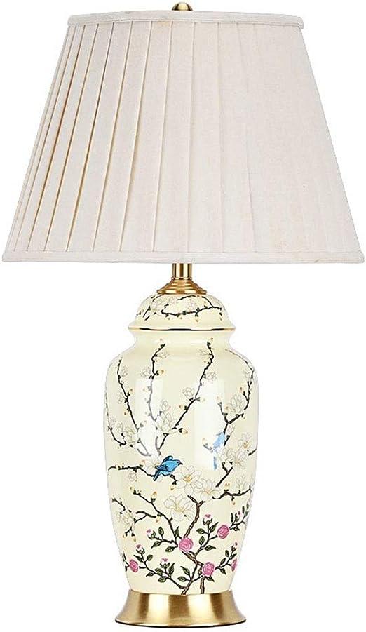 Lámparas de mesa Sala de estar Dormitorio Cerámica Lámpara de ...