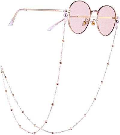 Fangfeen Occhiali da Sole Eye Catena Holder Occhiali Eyewear Cavo Reading Glasses Beads Collana Cordino