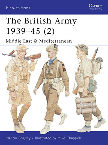 The British Army 1939–45 (2): Middle East & Mediterranean (Men-at-Arms)